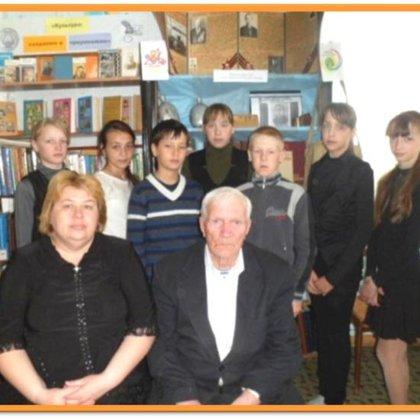 Всстреча с ветераном ВОв А.П. Калентьевым
